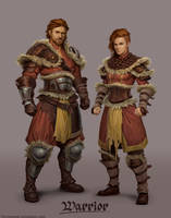 Warrior Class by ForrestImel