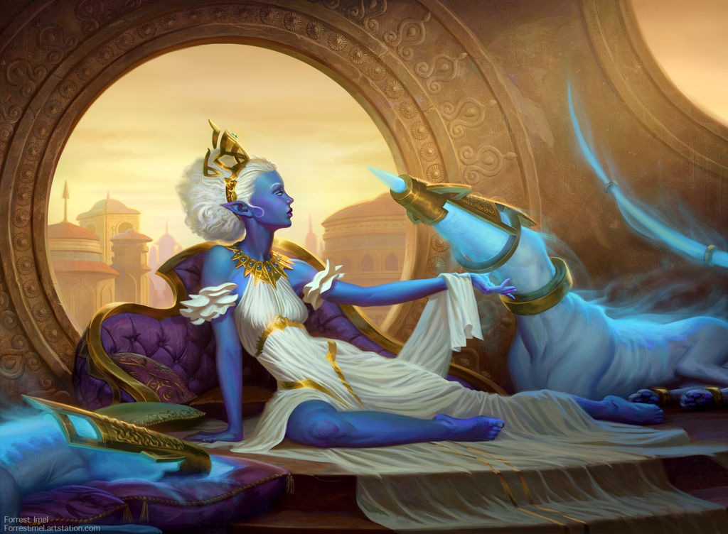 Empress of Mana by ForrestImel