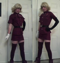Seras Progress by HawkWalker