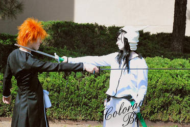 Bankai Ichigo Cosplay by HawkWalker
