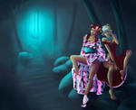 The Sisters Nobleheart and the Mythical Forest by LordNobleheart