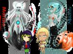 The Monster Girls 2 - Moriko and Mundina by LordNobleheart