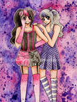 Jenni And Lavender - BFF Fashionistas by LordNobleheart