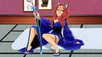 Tabitha's Sweet Raven Wallpaper 2 - Room by LordNobleheart