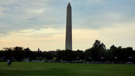 Washington's Monument by LordNobleheart