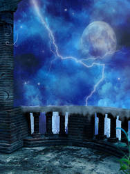 Moonlight stock by Ivienn