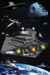 76.StarWars-TheLoneXWing by skyhighnet
