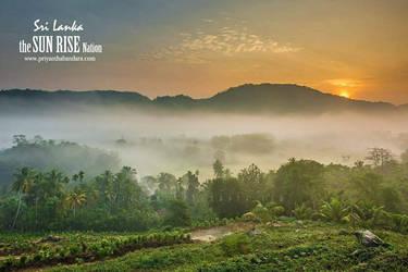 Mathugama sunrise  by farcry77