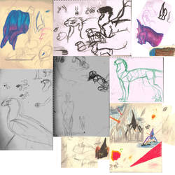 Trad Sketch Dump.. by Hellsingswinged