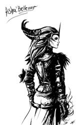 Asha'Bellanar by Gothic-Diva