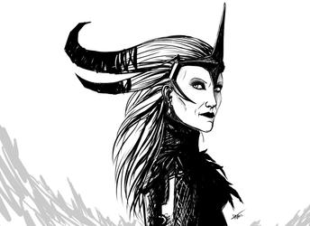 Flemeth by Gothic-Diva