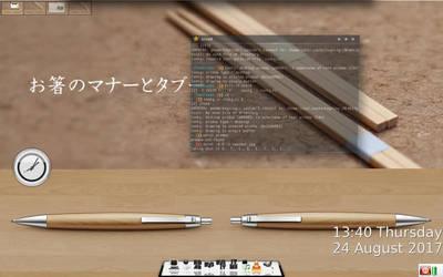 wood'n'chopsticks by shedied