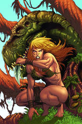 Jungle Girl cover 5 by Adrianohq