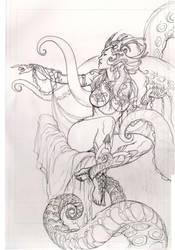 Dejah Thoris cover by Adrianohq
