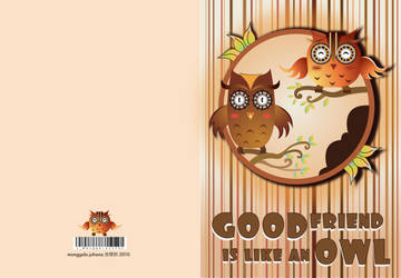 Friendship Card by jmanggala