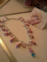 Princess Cadence Inspired Necklace by CorterMoon