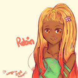 Robin: Reverrii's oc by digi775