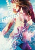 beach beat flyer by mellowpt