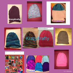 Variety Sizes Of Hats For Sale by MamaChangeling
