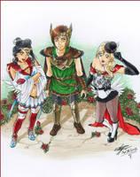 Commission: Warriors of Jupiter by EkatiCAT