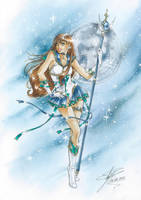 C:Sailor Earth Warrior by EkatiCAT
