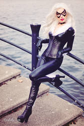 Black Cat I by Cosbabe