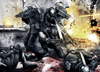 Skraeling - battle by Beherit