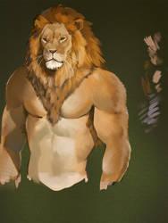 Lion practice by koutanagamori