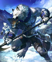 Silver Rawulf by koutanagamori