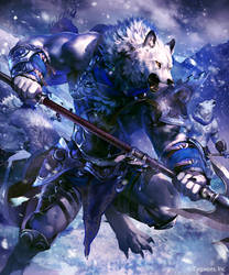 Silver Rawulf-Evolved by koutanagamori