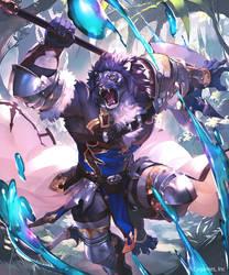 Setus,the Beastblade by koutanagamori