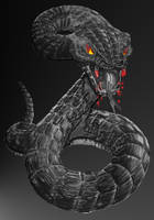 Snake by Louskan