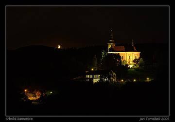 Srbska Kamenice at Night by semik