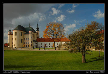 Litomysl, Monastery Garden by semik