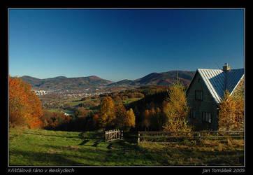 Limpid morning in Beskydy by semik