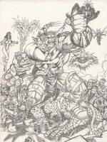 Hulk vs anyone by LakLim