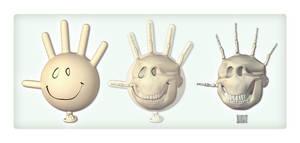 Glove Head by freeny