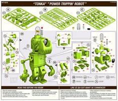 TONKA the Power Trippin Robot by freeny