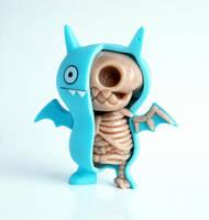 Icebat Uglydoll Anatomy Sculpt by freeny