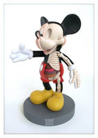 Mickey Mouse Anatomy Sculpt x by freeny