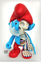 Papa Smurf Dissected by freeny