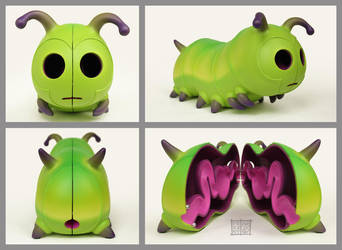 Caterpillar by freeny