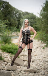 Dessous Linz V by Felicia-Lucienne