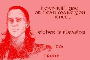 Loki Valentine by geothebio