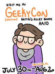 Geekycon 2015!! by geothebio