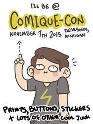 Comique-Con Announcement!! by geothebio