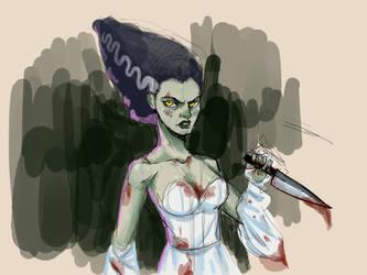 Lady Frankenstein by XamuArt