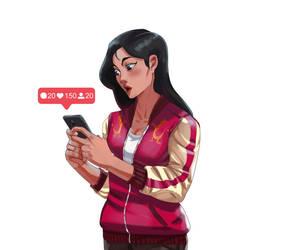 Mulan by XamuArt