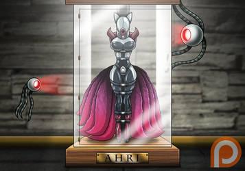 Displayed Ahri (Patreon Reward) by Re-Maker