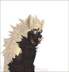 Crazy moro by Fakelore